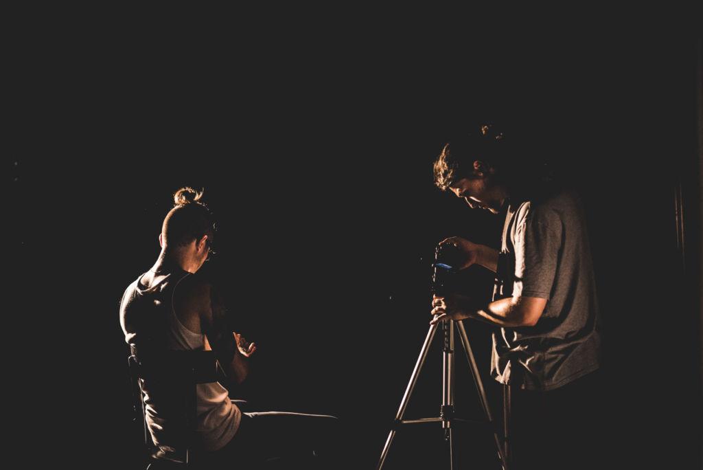 Servizio fotografico BTS del videoclip di presentazione del nuovo album di Lex Lucro per pubblicizzazione via social media.